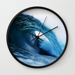 wave, waves Wall Clock