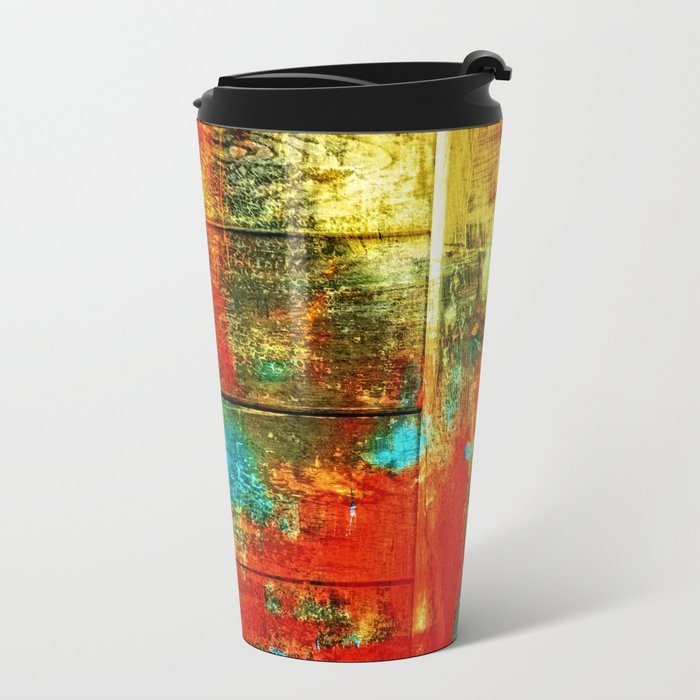 Colors-Feeling Metal Travel Mug