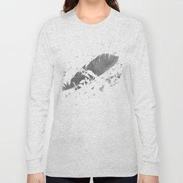 Black plume Long Sleeve T-shirt