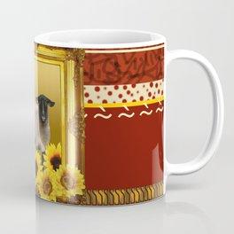 Frame Design yellow Sheep Coffee Mug