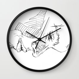 Publicly indecent  Wall Clock