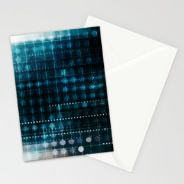 Online Security on the Internet as a Digital Concept Stationery Cards