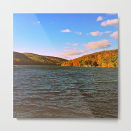 Falling for Candlewood Metal Print