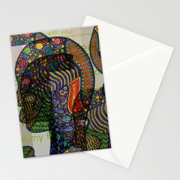 I Can't Feel My Face When I'm With You Stationery Cards
