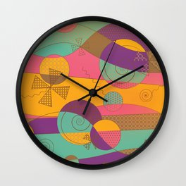 Abstract pattern - Chocolate Candy Wall Clock