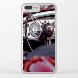 My Red Convertible Clear iPhone Case