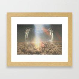Where do we go from here? Framed Art Print