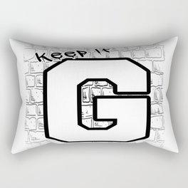 Keep It G Rectangular Pillow