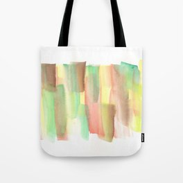 [161228] 21. Abstract Watercolour Color Study |Watercolor Brush Stroke Tote Bag