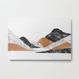 Marble Landscape II Metal Print