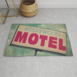 The Hollywood No-Tell Motel Rug