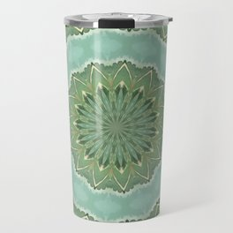 Succulent Mandala Travel Mug