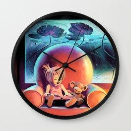 Lily's Island Wall Clock