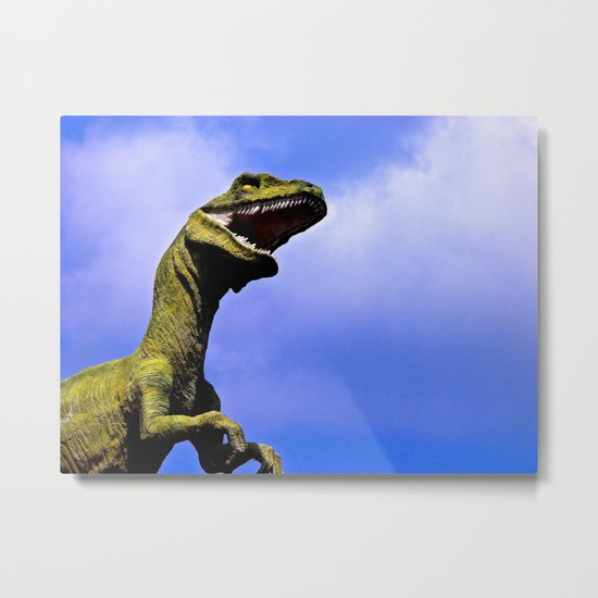 Aruba's T-Rex Metal Print