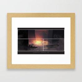 Megalopolis Framed Art Print