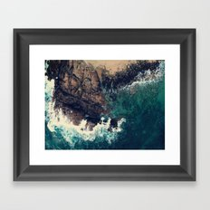 ocean breeze Framed Art Print