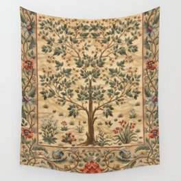 WILLIAM MORRIS - TREE OF LIFE Wall Tapestry