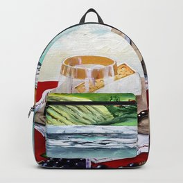 The Wine Painting Backpack