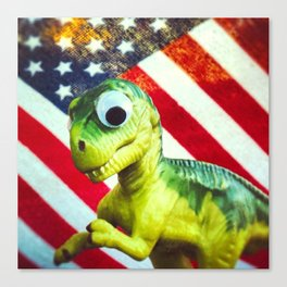 Tiny Diny USA Canvas Print