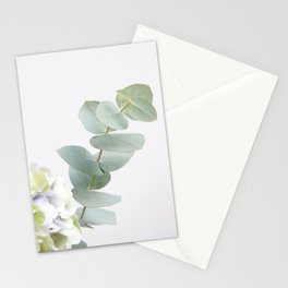 Gentle Soft Green Leaves #1 #decor #art #society6 Stationery Cards