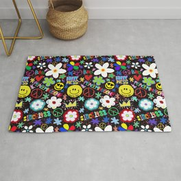 PMO colorful collage Rug