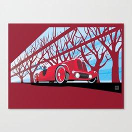 Vintage racer Canvas Print