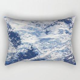 Mount and snow Rectangular Pillow