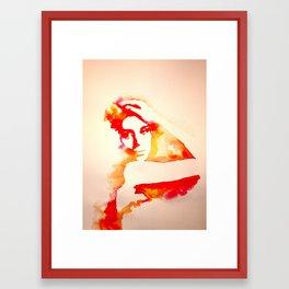 Gust Framed Art Print