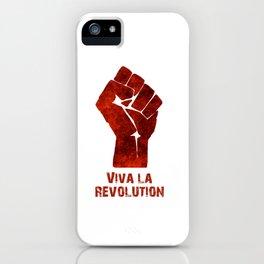 Viva La Revolution iPhone Case