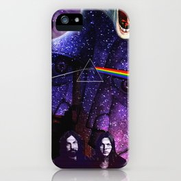 PinkFloyd Collage iPhone Case