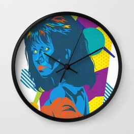 TRUDY :: Memphis Design :: Miami Vice Series Wall Clock