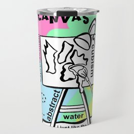 Smack the Canvas - Zine Page Travel Mug