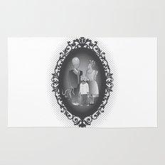 Framed family portrait Rug