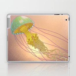 jellyfish-red Laptop & iPad Skin