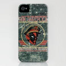 Dan Darepool: Insane Ninja-Merc of the Future iPhone (4, 4s) Slim Case