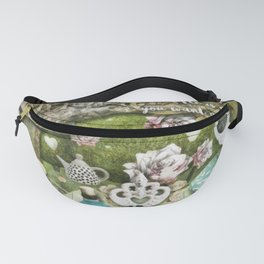 White Queen Fanny Pack