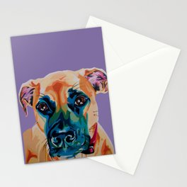 Sweetest Lady Boxer Stationery Cards