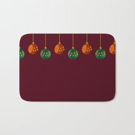Christmas - The Best Time Of The Year Bath Mat