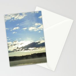 Silver Lining Sunrise Stationery Cards
