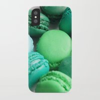 macaroons iPhone & iPod Cases featuring Macaroons by Sara Chergui