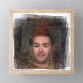 Fat Mike NOFX Portrait Framed Mini Art Print