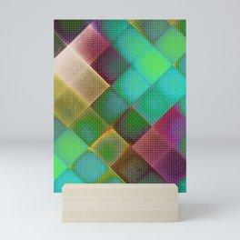 COLOURFUL HILLS III Mini Art Print
