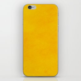 yellow curry mustard color trend plain texture iPhone Skin