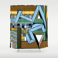 f1 Shower Curtains featuring jerez by Gray