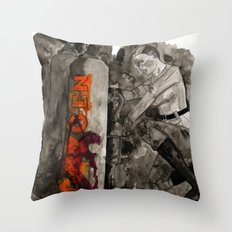 Incoming Zombies Throw Pillow