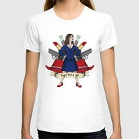 peggy carter T-shirts featuring Fight like a Girl - Peggy Carter by HayPaige