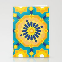 sacred geometry Stationery Cards featuring Sacred Geometry by Tashi Delek