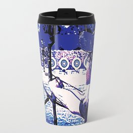 Young Archer and Targets Travel Mug