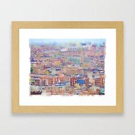 Neighborhood of Make-Believe II Framed Art Print