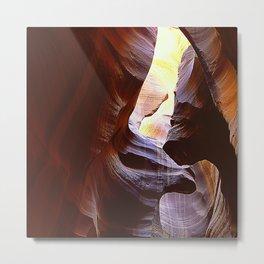 Fine Art Antelope Valley Arizona Slot Canyon Epic Photo Metal Print